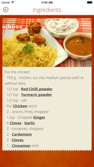 Indian recipes on the app store indian recipes on the app store forumfinder Image collections