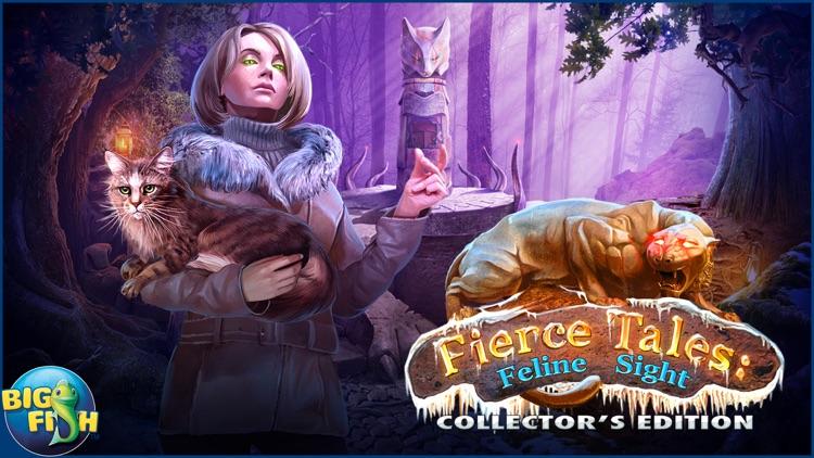 Fierce Tales: Feline Sight - A Hidden Objects Mystery Game screenshot-4
