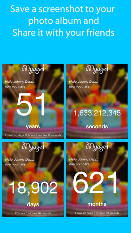 MyAge App Calculate your age screenshot-4