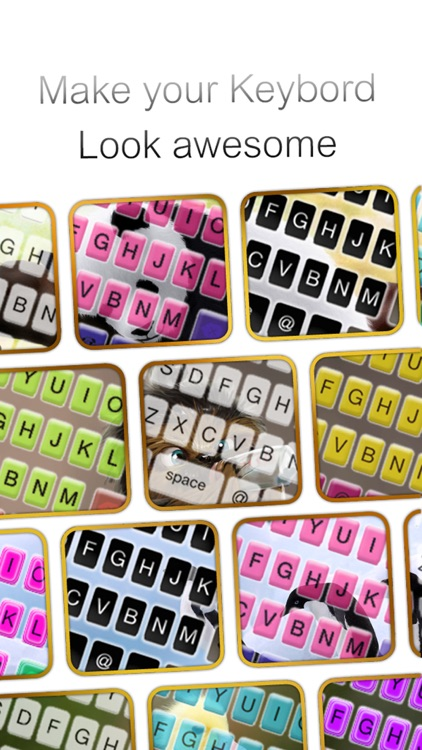 Custom Keyboard Puppy : Cute Color & Wallpaper Keyboard Animal Baby Themes in The Pet Design screenshot-2