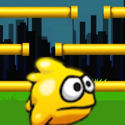 ROLLY Bird In Flappy City: A Bird That Can't Fly Rather Jump
