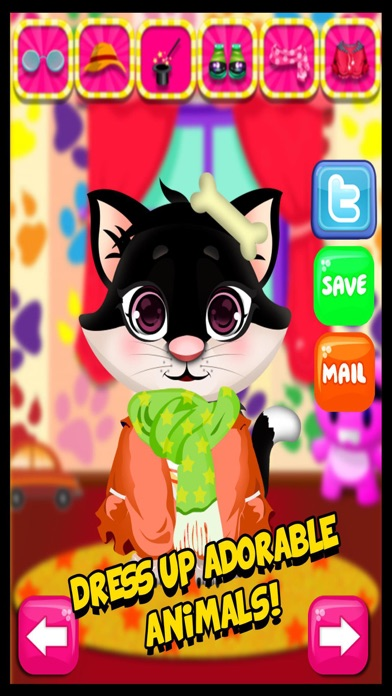 My Cute Pet Animal Fashion Salon & Spa - Free Makeover Games For Kids screenshot three