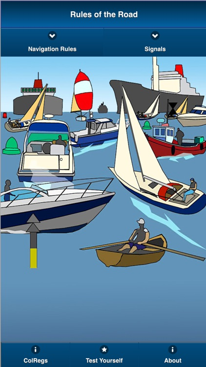 ColRegs: Rules of the Road for all Seagoing Sail and Power Vessels