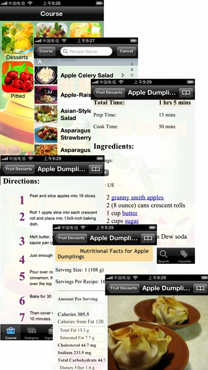 15000+ Fruit Recipes screenshot-3