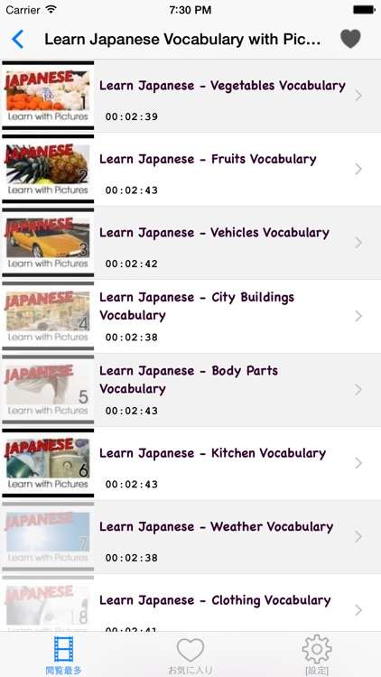 Japanese Courses: Learn Japanese by Videos