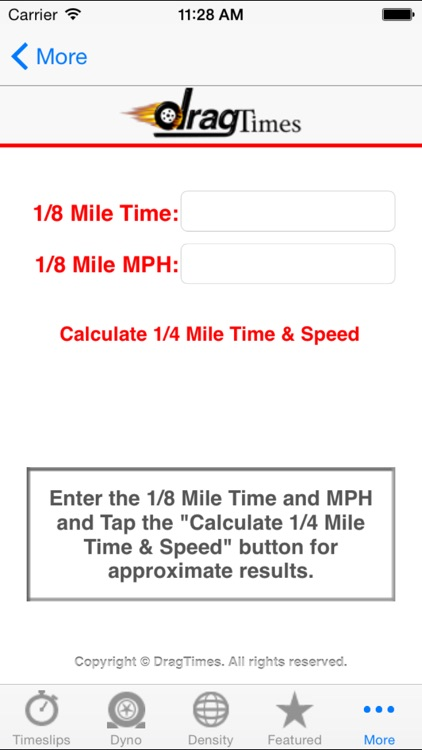 DragTimes.com screenshot-3