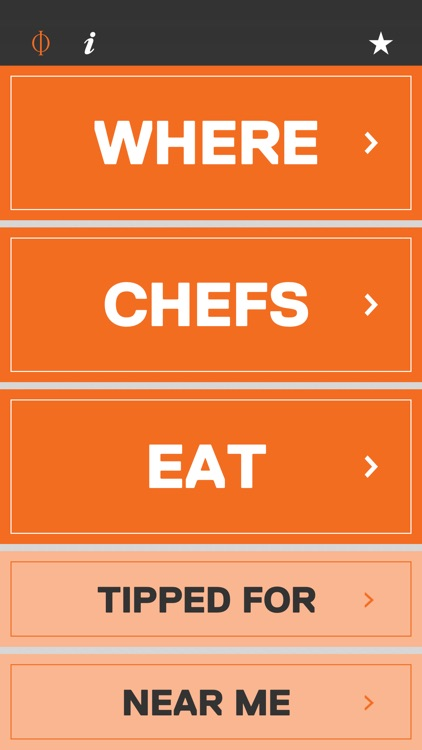 Where Chefs Eat – A Guide to Chefs' Favorite Restaurants screenshot-0