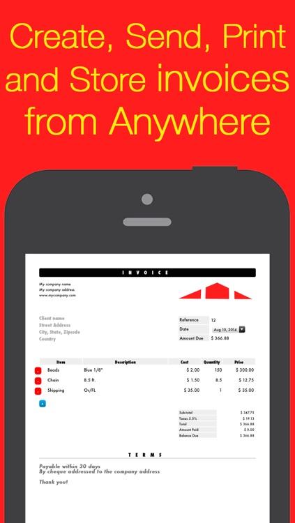 Invoice Maker Core • Mobile PDF invoicing