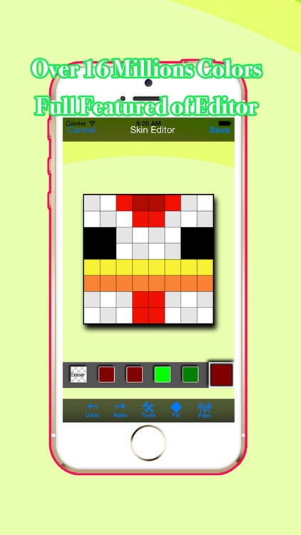 PE Skin Creator for Pocket Edition of Minecraft screenshot-3