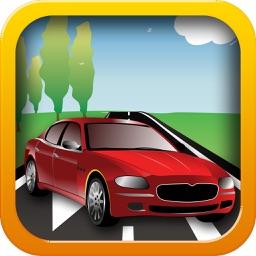 Fast Lane - Real GTI On Asphalt Road