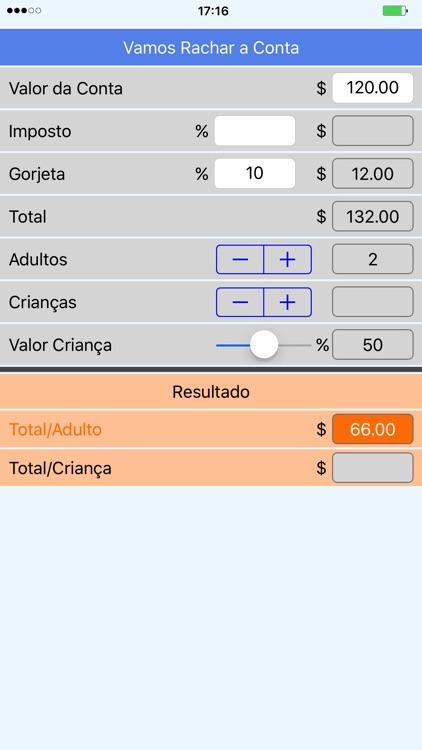 Vamos Rachar a Conta screenshot-3