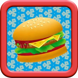 A delicious meal in happy restaurant: collect fast food