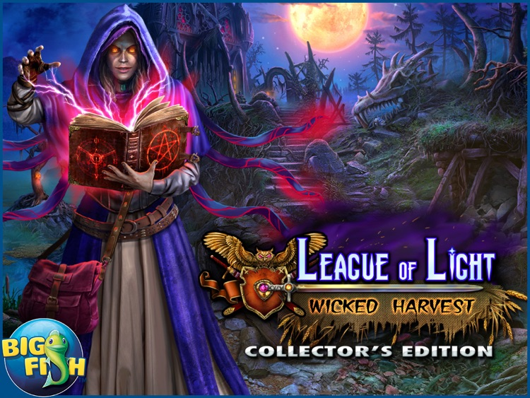League of Light: Wicked Harvest HD - A Spooky Hidden Object Game (Full) screenshot-4