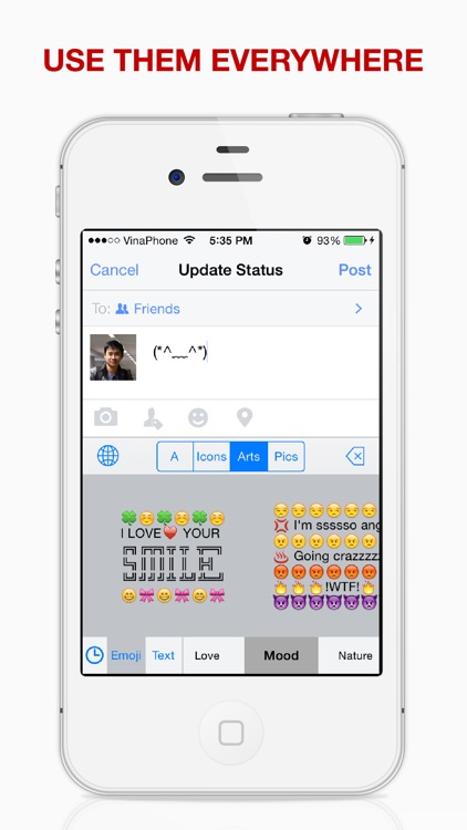 Emoji Keyboard Plus - The Most Advanced Emoji & Emoticon Keyboard Ever