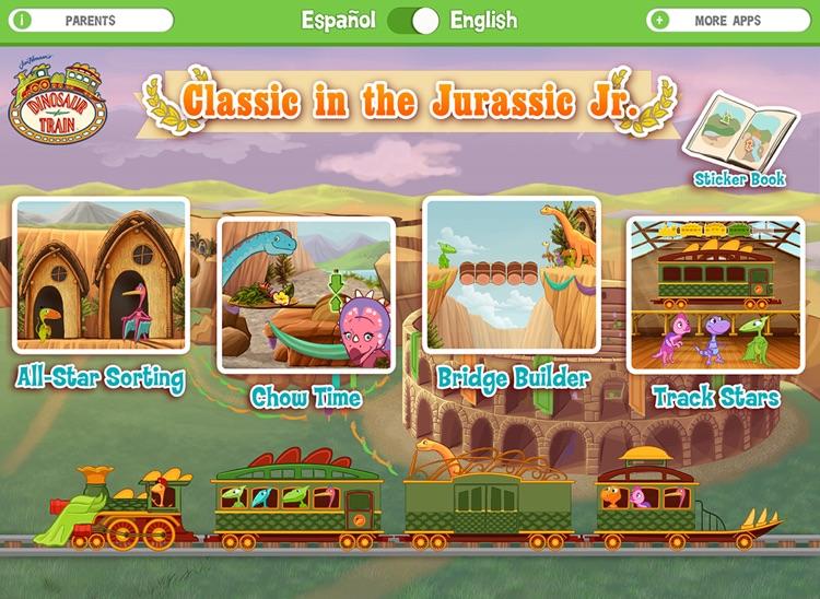 Dinosaur Train Classic in the Jurassic, Jr.! screenshot-0