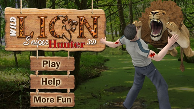 lion hunting games