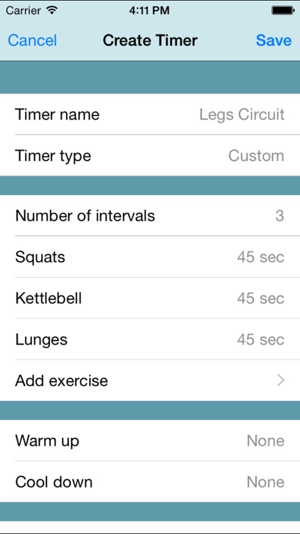 Fitness Interval Timer screenshot-0