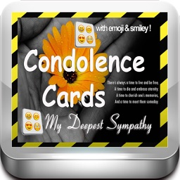 Best Condolence Cards with Emoji Keypad.Customise and send condolence cards with sympathy text,voice messages and emoticons