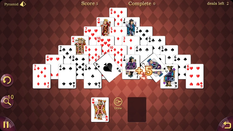 Awesome Pyramid Solitaire