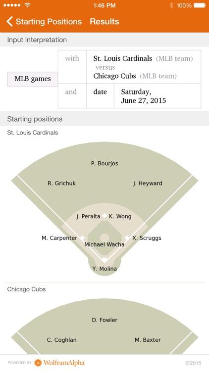 Wolfram Pro Baseball Stats Reference App