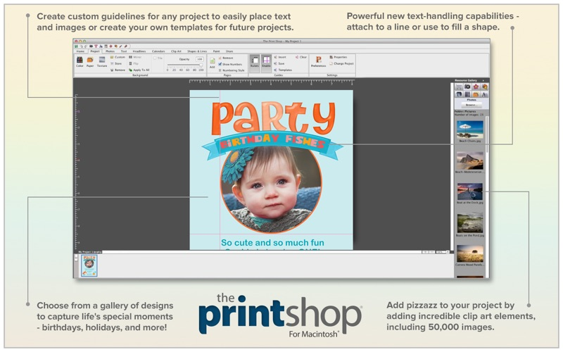The Print Shop review screenshots