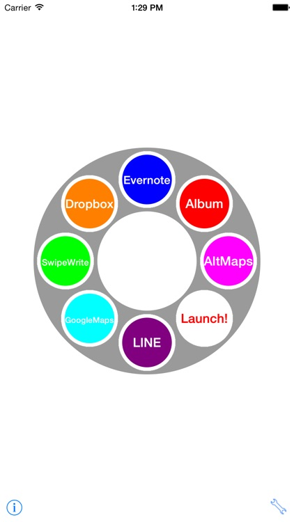 Circular - Quick launcher for apps - screenshot-0
