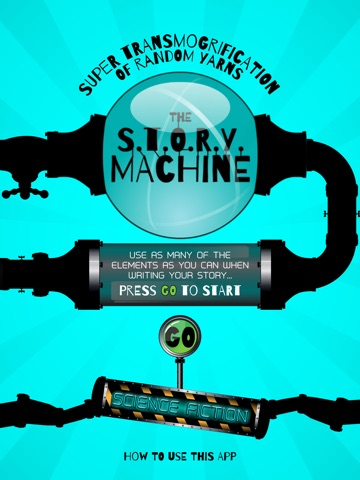 The Science Fiction Story Machine Screenshot