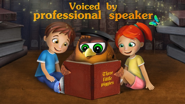 The three little pigs - preschool & kindergarten fairy tales book for kids Free screenshot-3