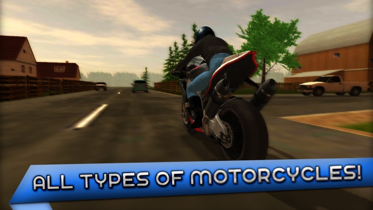 Motorcycle Driving 3D screenshot-4