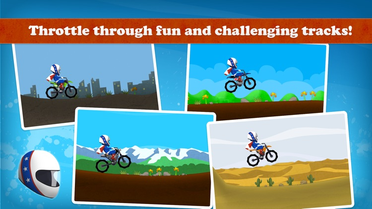 Ace Rider™ - motor bike racing & stunts screenshot-3