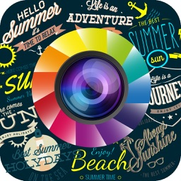 Retro Vintage Stickers & Photo Effects Camera