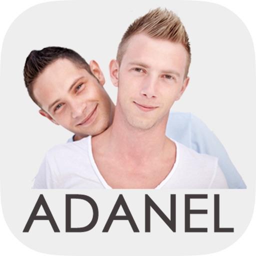 Adanel - red social para hombres gay iOS App