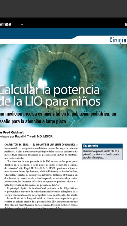 Ophthalmology Times Latin America screenshot-1