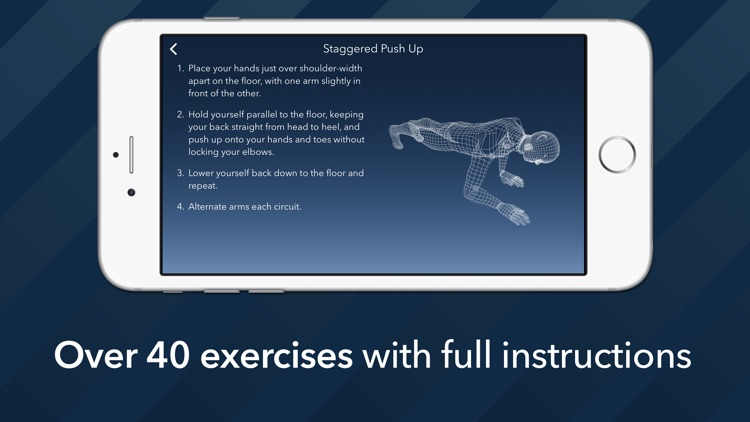 7 Minute Motion-Tracking Workout