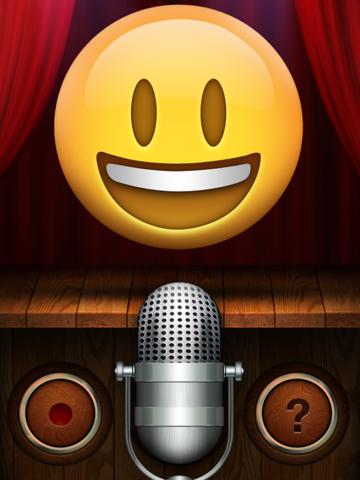 Talking Emoji Pro - Send Video Texting Emoticons using Voice Changer and Dash Emoji Geometry Stick Game ipad ekran görüntüleri
