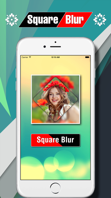 Square Blur Photo Effect screenshot one