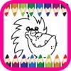 动物卡通着色书的孩子 3