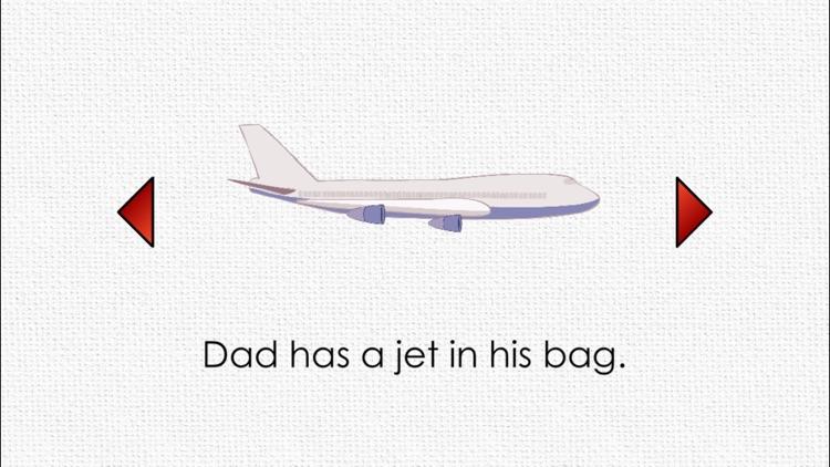 CVC Reading Book: Dad's Bag screenshot-3