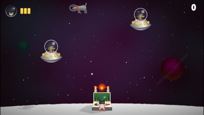 Commander Space Cat screenshot two