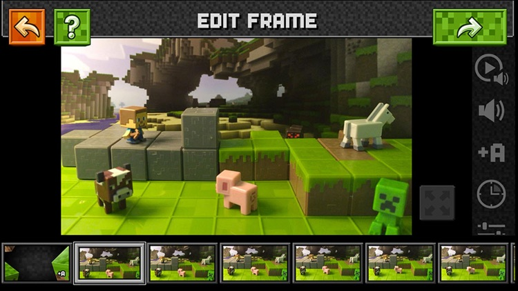 Minecraft Stop-Motion Movie Creator