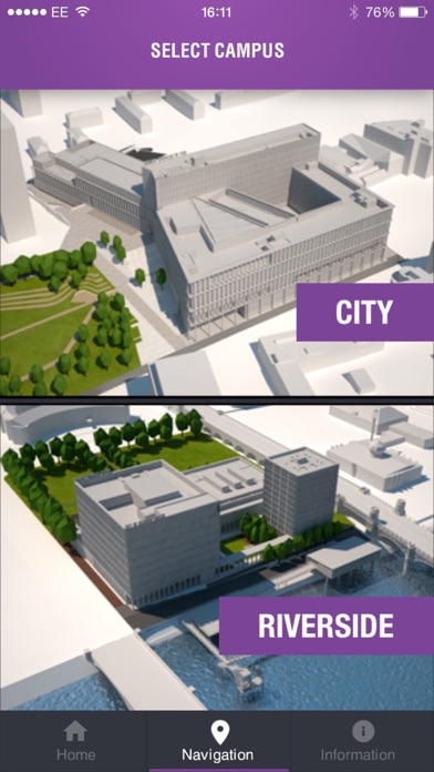 City of Glasgow College Navigation screenshot two