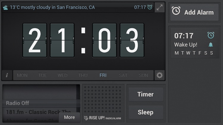 Rise Up! Radio/Alarm