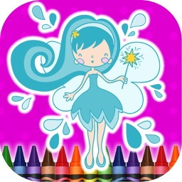 Coloring Book Fairy
