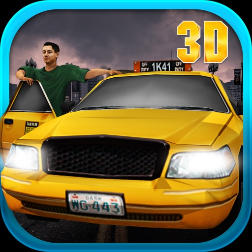 3D сумасшедшие мания водитель такси - реального вождения имитации игры