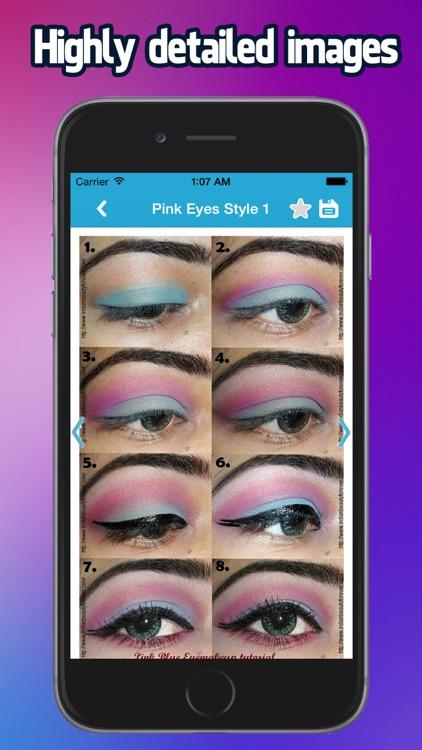 Eye Makeup Step By Step 2015 screenshot-4
