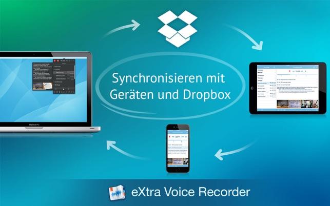 eXtra Voice Recorder Screenshot