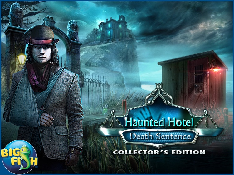 Haunted Hotel: Death Sentence HD - A Supernatural Hidden Objects Game screenshot-4
