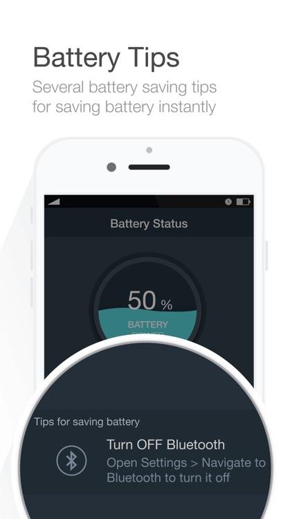 Battery Saver - Manage battery life & Check system status - screenshot-3