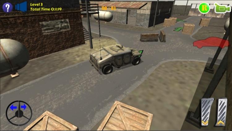Humvee Car Parking screenshot-3