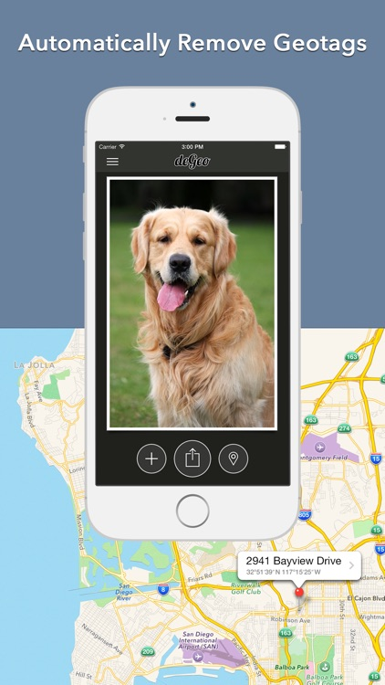 deGeo - Geotag Remover, EXIF Viewer Photo Privacy Tool